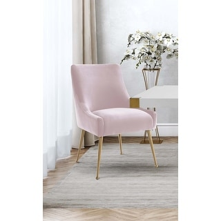Link to Beatrix Blush Velvet Side Chair Similar Items in Dining Room & Bar Furniture