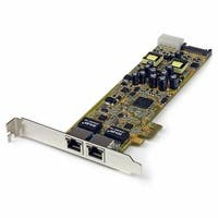Dual Port PCI Express Gigabit Ethernet PCIe Network Card Adapter -