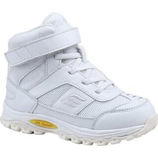 Mt. Emey Children's 3305-3H Orthopedic High Top White Leather/Mesh