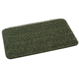 "Clean Machine 10372030 Hunter Green Astroturf Nonslip Floor Mat, 18"" X 30"""