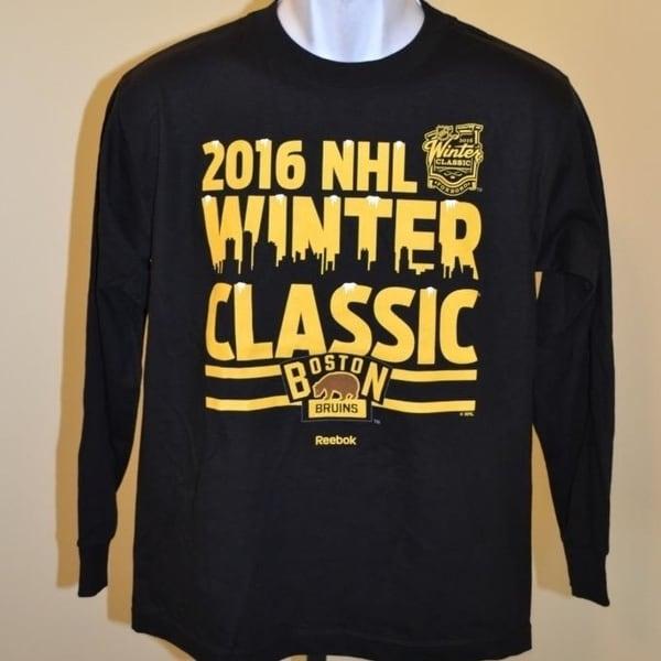 the best attitude 2046e f803a Shop Boston Bruins 2016 Winter Classic Youth Large L 14/16 ...