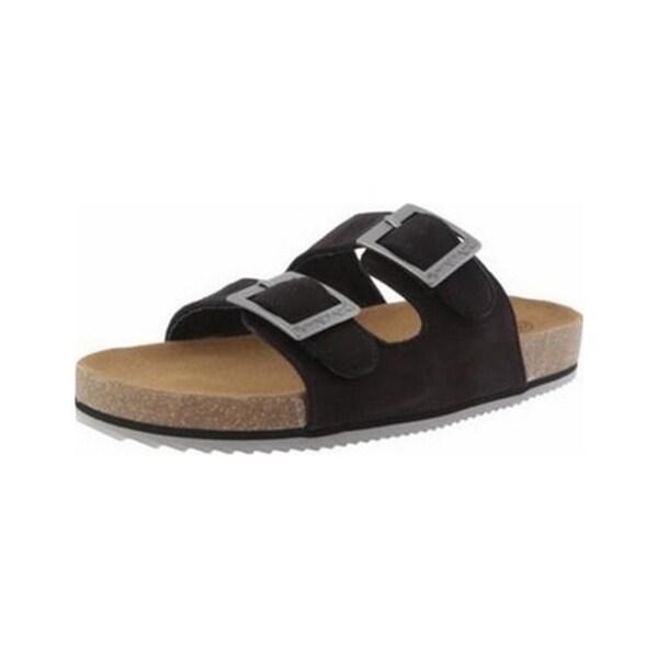 Bearpaw Casual Shoes Womens Brooklyn Microsuede Sandal Cork