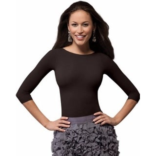 SPANX On Top and In Control - 3/4 Sleeve Boatneck Shaping Top
