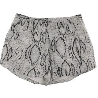 Haute Hippie Womens Silk Snake Print Casual Shorts - 4