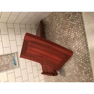 Bare Decor Sofi Shower Stool in Solid Teak Wood - Free Shipping ...