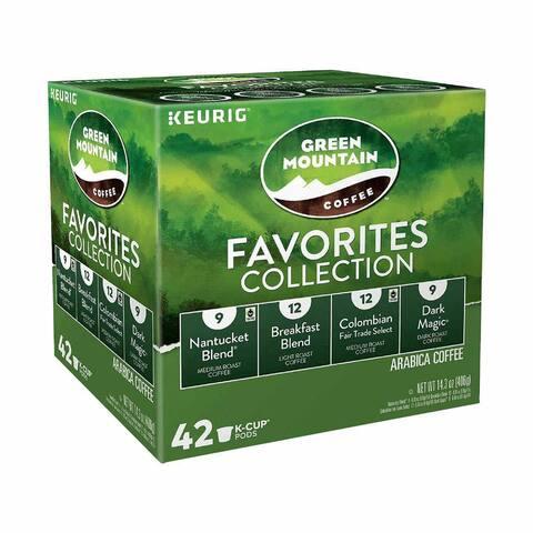 Keurig Single-Serve K-Cup Pods, Variety Pack, 42ct (1 Pack)