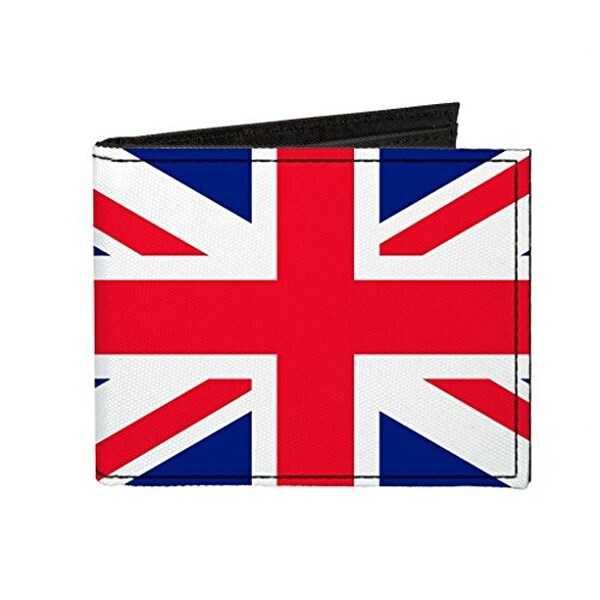 Buckle-Down Canvas Bi-fold Wallet - United Kingdom Of Great Britain and Accessory