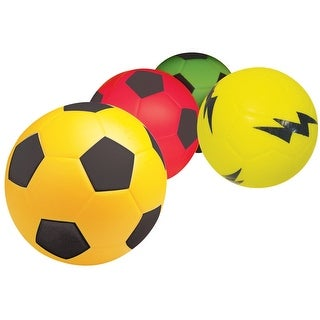 Poof 4 in Mini Soccerball, Red