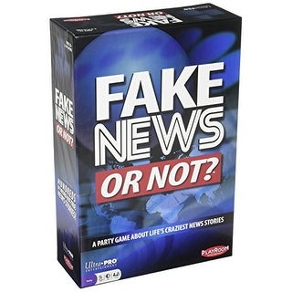 Ultra Pro Fake News Or Not Social Card Game