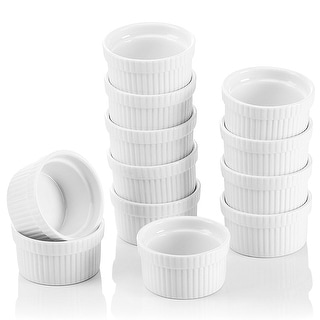 Link to 2.75'' White Porcelain Ramekins Souffle Dishes Set of 12 Similar Items in Bakeware