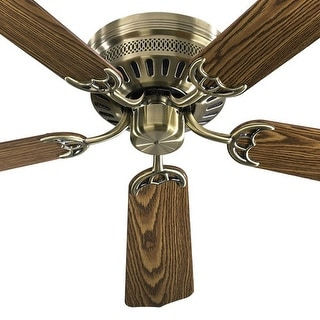 "Quorum International Q11425 Indoor 42"" Ceiling Fan from the Custom Hugger Collection"