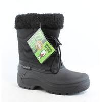 Tundra Womens Dot-W Black Snow Boots Size 5