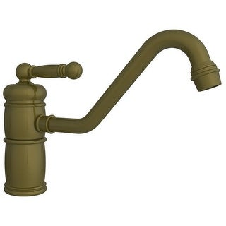Newport Brass 940 Nadya Single Handle Single Hole Kitchen Faucet With Metal  Leve