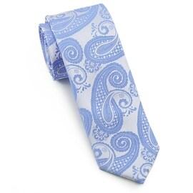 Men's Blue Paisley Tie