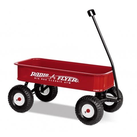 Radio Flyer 1800 Big Classic ATW Child Toy Wagon, For Ages Over 1-12 Years