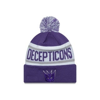 Transformers Decepticons Biggest Fan Knit Hat