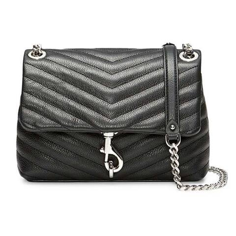 Rebecca Minkoff Edie Crossbody Bag Black SM (HF18EEQX20)