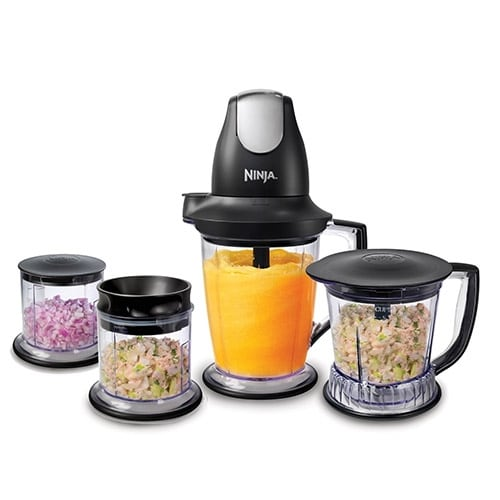 Ninja QB1005 Pro Master Prep Pulse Blender & Food Processor (Refurbished) - Black