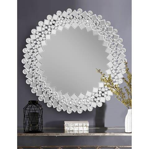 KOHROS Modern Round Craft Mirror