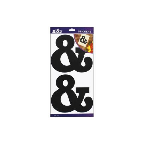 52-90425 ek sticko sticker basic black monogram