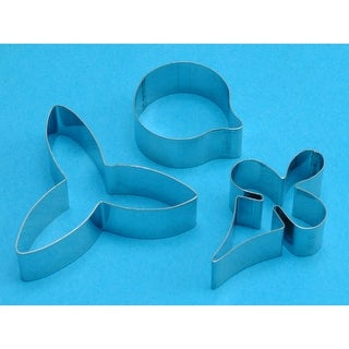 Stainless Steel Cutters 4/Pkg-Moth Orchid Flower