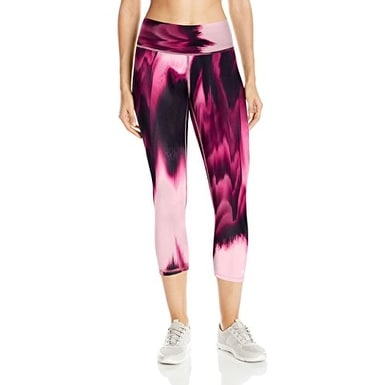 62e74af1686ee Shop Champion Women's Absolute Capri Legging with SmoothTec, Marzipan  Glaze, Medium - Pink - Free Shipping On Orders Over $45 - Overstock -  21529469