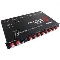 Cerwin-Vega Mobile CEREQ770 7-Band Parametric Equalizer With Aux Input