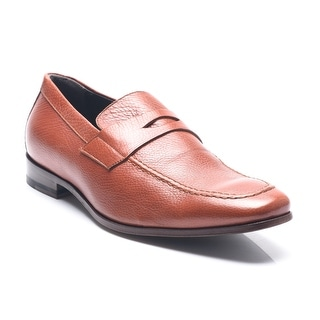 Bruno Magli Men's Leather Medordo Penny Loafers Shoes Brown