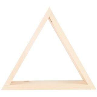 """Pine Triangle Shelf-13.88""""X12""""X4"""""""