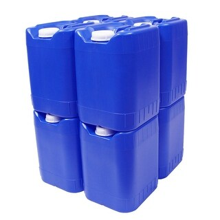 5-Gallon Stackable Water Container, BPA Free, High Density Polyetholene (HDPE)