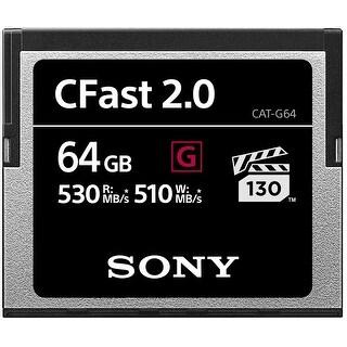 Sony G Series CFast 2.0 Memory Card 64GB