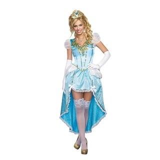 Having A Ball Women's Costume Dress - Blue