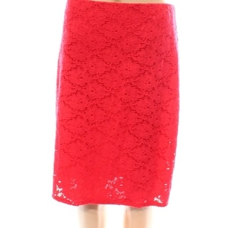 Alfani NEW Punch Red Floral Lace Women's Size 14 Stretch Knit Skirt|https://ak1.ostkcdn.com/images/products/is/images/direct/c1a9911fa1aca1c7d09b51e156785c4022aab193/Alfani-NEW-Punch-Red-Floral-Lace-Women%27s-Size-14-Stretch-Knit-Skirt.jpg?impolicy=medium