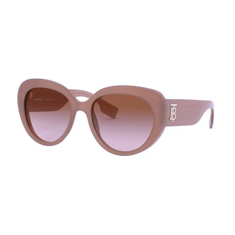 Burberry Cat-Eye BE4298 Sunglasses Brown - One Size
