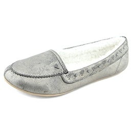 Roxy Women's Cherokee II Sherpa Lined Slip-On Loafers
