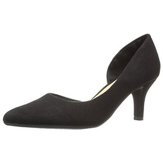 CL by Laundry Womens Estelle Pumps Faux Suede D-Orsay - 7 medium (b,m)