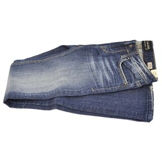 Cult of Individuality Women's Karma Straight Leg Dark Faded Jean Size 28/31