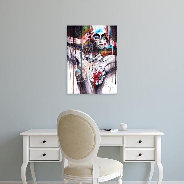 Easy Art Prints Minjae Lee's 'The World' Premium Canvas Art