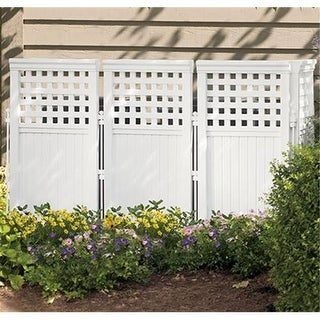 Suncast FS4423 OUTDOOR SCREEN FENCE - 4 PC PK - Pack of 1