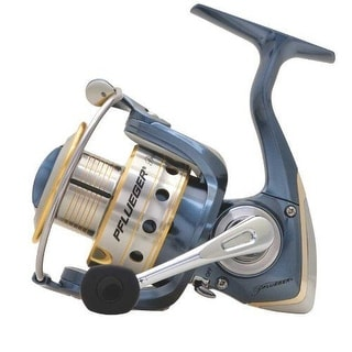 Pflueger President SPINNING REEL, 10lb 230yd Instant Anti Reverse FISHING REEL