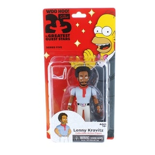 """The Simpsons 25th Anniversary 5"""" Series 5 Action Figure: Lenny Kravitz"""