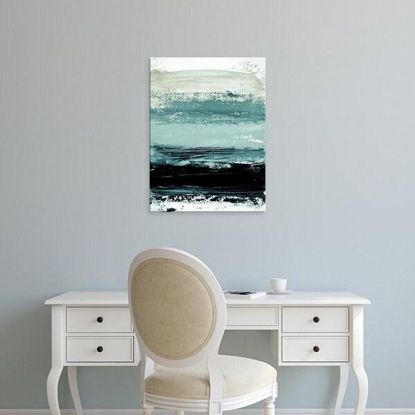Easy Art Prints Iris Lehnhardt's 'Abstract Minimalist Landscape 4' Premium Canvas Art