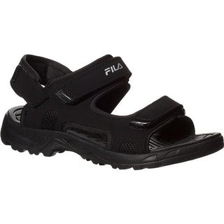 Fila Men's Transition Black/Black/Metallic Silver
