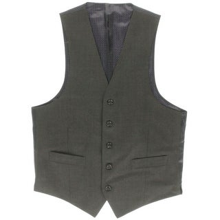 Shaquille O'Neal Mens Wool Lined Suit Vest - S