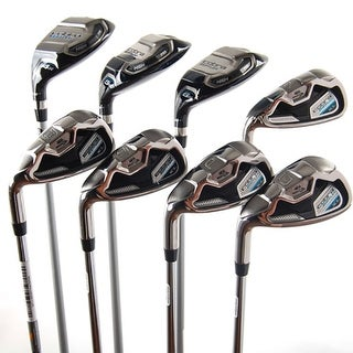 New Cobra Baffler XL Combo Iron Set 4h 5h 6h 7-PW,GW Steel Stiff LEFT HANDED