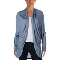 Lauren Ralph Lauren Womens Cholena Cardigan Sweater Silk Blend Open Collar - o/s