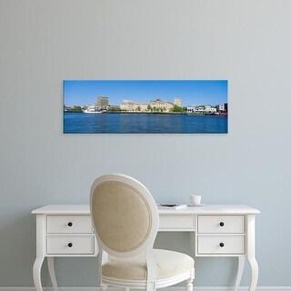 Easy Art Prints Panoramic Images's 'Skyline, Wilmington, South Carolina' Premium Canvas Art