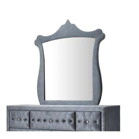 ACME Dante Dresser in Gray Velvet