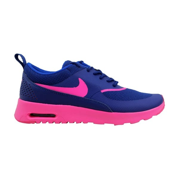 3d28b80ca0d18 ... Women's Athletic Shoes. Nike Women's Air Max Thea Deep Royal  Blue/Hyper Pink-