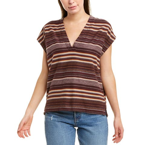 James Perse V-Neck Boxy T-Shirt